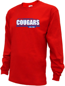 Kids Craig Middle School Cougars Long Sleeve Youth Shirts