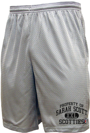 Men's Scotties  Mesh Shorts