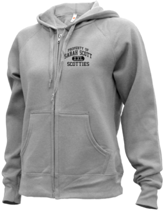 Women's Scotties  Zip-up Hoodies