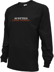 Men's Sarah Scott Middle School Scotties Long Sleeve Shirts