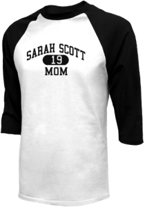 Men's Sarah Scott Middle School Scotties  Raglan Shirts