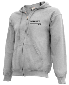 Men's Sarah Scott Middle School Scotties  Zip-up Hoodies