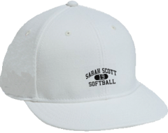 Sarah Scott Middle School Scotties Embroidered Flat Bill Caps