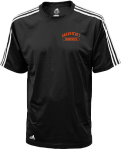 Men's Sarah Scott Middle School Scotties Embroidered Adidas Golf ClimaLite® Shirt