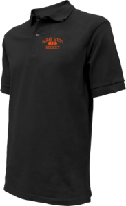 Men's Sarah Scott Middle School Scotties Embroidered Polo Shirts