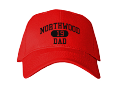Women's Northwood Middle School Panthers Embroidered Baseball Caps