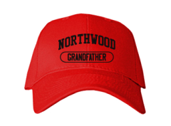 Men's Northwood Middle School Panthers Embroidered Baseball Caps