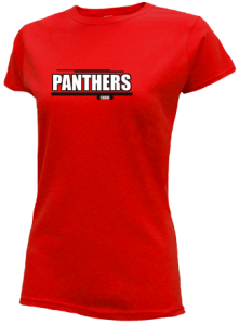 Junior Girls Northwood Middle School Panthers  Slimfit T-Shirts
