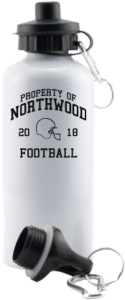 Women's Northwood Middle School Panthers Aluminum Water Bottles