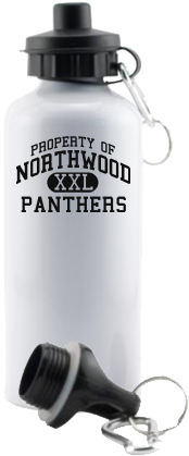 Women's Panthers Aluminum Water Bottles