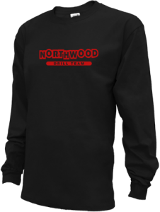 Kids Northwood Middle School Panthers Long Sleeve Youth Shirts