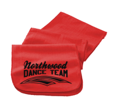 Women's Northwood Middle School Panthers Embroidered Scarfs