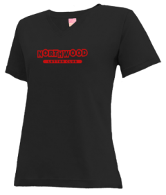 Women's Northwood Middle School Panthers V-neck Shirts
