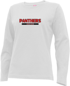 Women's Northwood Middle School Panthers Long Sleeve T-shirts