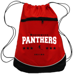Women's Northwood Middle School Panthers Drawstring Back Packs