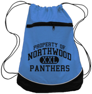 Women's Panthers Drawstring Back Packs