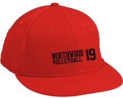Northwood Middle School Panthers Embroidered Flat Bill Caps