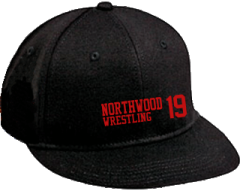 Women's Northwood Middle School Panthers Embroidered Flat Bill Caps