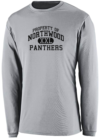 Men's Panthers  Performance Long Sleeved Crew