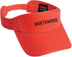 Northwood Middle School Panthers Embroidered Visors