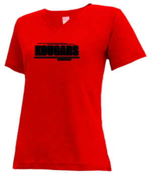 Women's Kankakee Valley Middle School Kougars Apparel