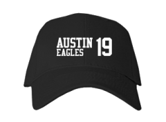 Men's Austin Middle School Eagles Embroidered Baseball Caps