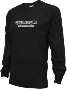 Men's Christa Mcauliffe Middle School  Long Sleeve Shirts