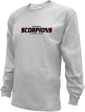 Kids Central Middle School Scorpions Apparel