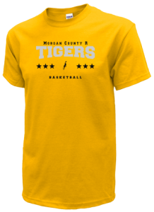 Women's Morgan County R2 Middle School Tigers  T-Shirts
