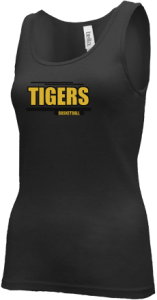 Junior Girls Morgan County R2 Middle School Tigers  Tank Tops
