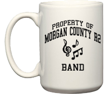 Morgan County R2 Middle School Tigers Mugs & Bottles