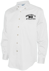 Men's Morgan County R2 Middle School Tigers Long Sleeve Button Up Shirts