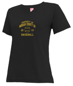 Women's Morgan County R2 Middle School Tigers V-neck Shirts