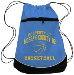 Men's Morgan County R2 Middle School Tigers Drawstring Back Packs