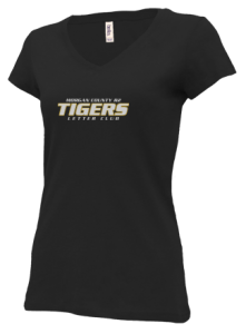 Junior Girls Morgan County R2 Middle School Tigers V-neck Shirts