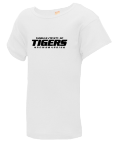 Junior Girls Morgan County R2 Middle School Tigers  T-Shirts