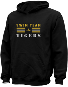 Kids Morgan County R2 Middle School Tigers  Hooded Sweatshirts