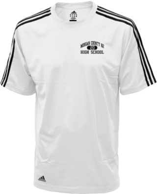 Men's Tigers Embroidered Adidas Golf ClimaLite® Shirt