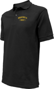 Kids Morgan County R2 Middle School Tigers Embroidered Polo Shirts