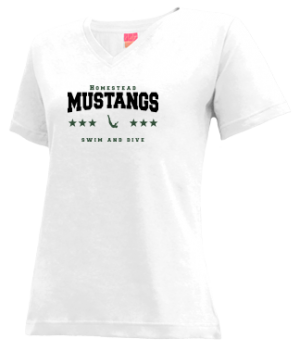 Women's Homestead High School Mustangs Apparel