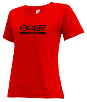 Women's Galt High School Warriors Apparel