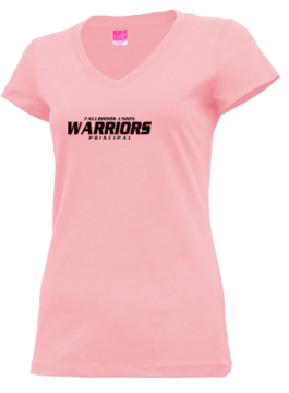 Junior Girls Fallbrook Union High School Warriors Apparel