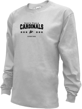 Kids Santa Paula High School Cardinals Apparel