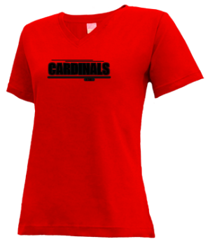 Women's Santa Paula High School Cardinals Apparel
