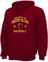 Men's Simpson College Storm Apparel