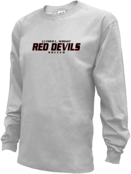 Kids Luther L. Wright High School Red Devils Apparel