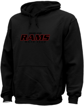 Men's Highland High School Rams Apparel