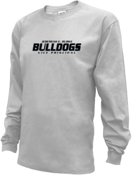 Kids Jeremiah E. Burke High School Bulldogs Apparel