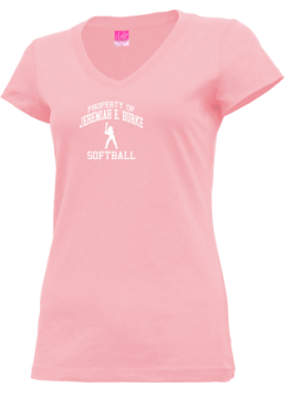 Junior Girls Jeremiah E. Burke High School Bulldogs Apparel