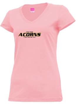Junior Girls Live Oak High School Acorns Apparel